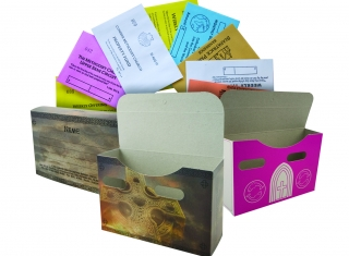 Pic of Boxed Sets of Church Offering Envelopes