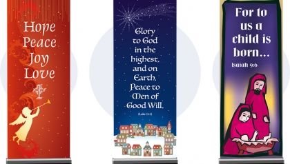 Church Christmas Banners